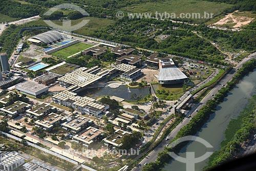 Foto aérea da Escola Sesc de Ensino Médio (ESEM)  - Rio de Janeiro - Rio de Janeiro (RJ) - Brasil