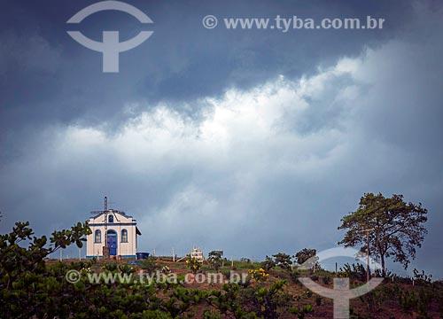 Vista da Capela de Santa Rita - também conhecida como Capelinha  - Guarani - Minas Gerais (MG) - Brasil
