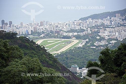 Vista do mirante do Centro de Visitantes Paineiras - antigo Hotel Paineiras  - Rio de Janeiro - Rio de Janeiro (RJ) - Brasil