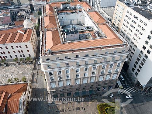 Foto feita com drone do Centro Cultural Banco do Brasil (1906)  - Rio de Janeiro - Rio de Janeiro (RJ) - Brasil