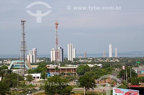 Vista geral da cidade de Palmas  - Palmas - Tocantins (TO) - Brasil