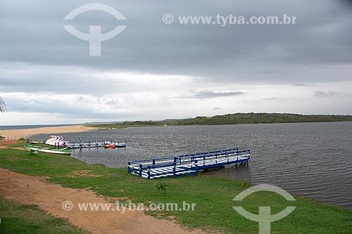Vista da Lagoa de Imboassica  - Macaé - Rio de Janeiro (RJ) - Brasil
