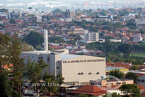Vista da Igreja Assembléia de Deus - Madureira - na cidade de Limeira  - Limeira - São Paulo (SP) - Brasil