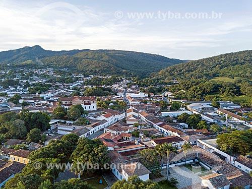 Foto feita com drone da cidade de Goiás  - Goiás - Goiás (GO) - Brasil