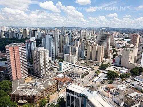 Foto feita com drone da cidade de Goiânia  - Goiânia - Goiás (GO) - Brasil