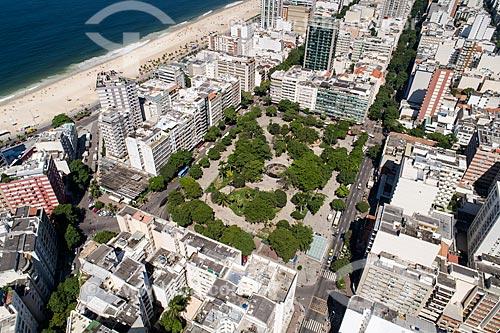 Foto feita com drone da Praça General Osório  - Rio de Janeiro - Rio de Janeiro (RJ) - Brasil
