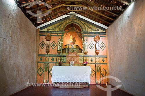 Altar da Capela de São João Batista (1761)  - Goiás - Goiás (GO) - Brasil