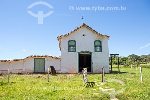 Fachada da Capela de São João Batista (1761)  - Goiás - Goiás (GO) - Brasil