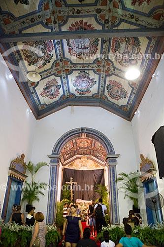 Interior da Igreja de São Francisco de Paula (1761)  - Goiás - Goiás (GO) - Brasil