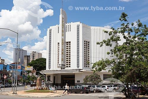 Fachada do Cine-Teatro Goiânia (1942)  - Goiânia - Goiás (GO) - Brasil