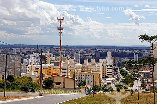 Vista geral da cidade de Vitória da Conquista  - Vitória da Conquista - Bahia (BA) - Brasil