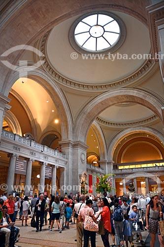 Hall de entrada do Museu Metropolitano de Arte (1820)  - Cidade de Nova Iorque - Nova Iorque - Estados Unidos