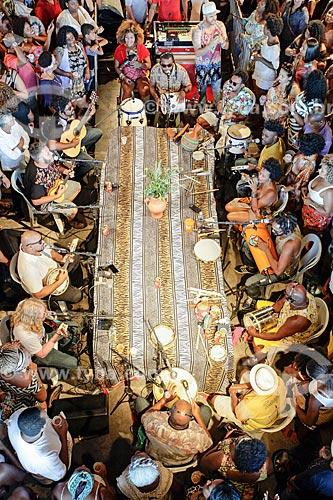 Vista de cima da roda de samba do projeto Criolice na Arena Carioca Fernando Torres - Parque Madureira  - Rio de Janeiro - Rio de Janeiro (RJ) - Brasil