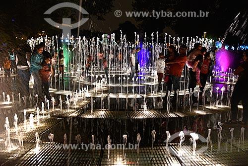 Show de luzes no Parque de la Reserva (Parque da Reserva)  - Lima - Província de Lima - Peru