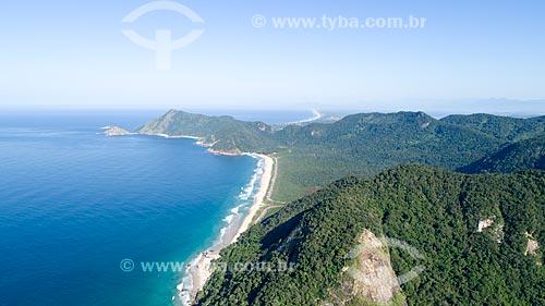 Foto feita com drone da Praia de Grumari  - Rio de Janeiro - Rio de Janeiro (RJ) - Brasil