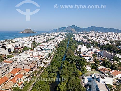 Foto feita com drone do Canal das Taxas  - Rio de Janeiro - Rio de Janeiro (RJ) - Brasil