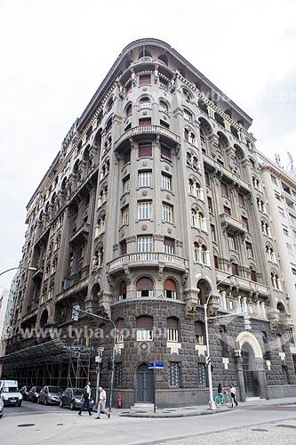 Fachada do Edifício Seabra (1931) na Avenida Praia do Flamengo  - Rio de Janeiro - Rio de Janeiro (RJ) - Brasil