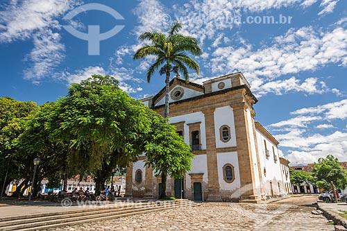 Fachada da Igreja de Nossa Senhora dos Remédios (1873)  - Paraty - Rio de Janeiro (RJ) - Brasil