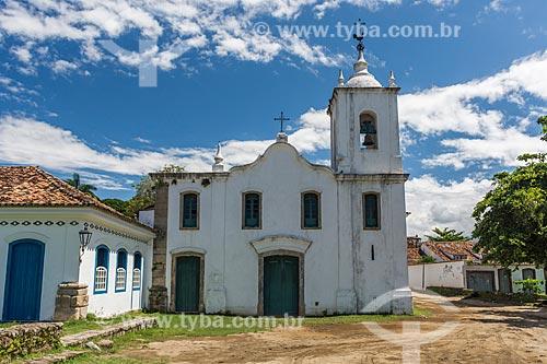Fachada da Igreja de Nossa Senhora das Dores (1820)  - Paraty - Rio de Janeiro (RJ) - Brasil
