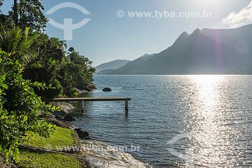 Vista da orla do Saco do Mamanguá  - Paraty - Rio de Janeiro (RJ) - Brasil