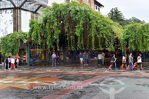 Entrada da Rua Madre Verônica - mais conhecida como Rua Coberta  - Gramado - Rio Grande do Sul (RS) - Brasil