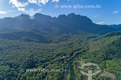 Vista geral do Vale do Rio São João  - Morretes - Paraná (PR) - Brasil