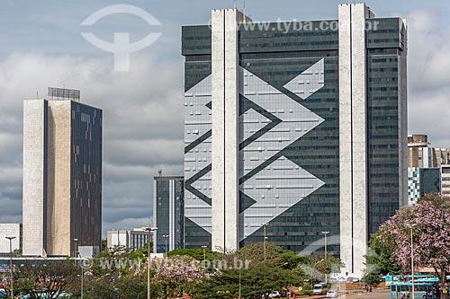 Fachada do Edifício Sede do Banco do Brasil  - Brasília - Distrito Federal (DF) - Brasil