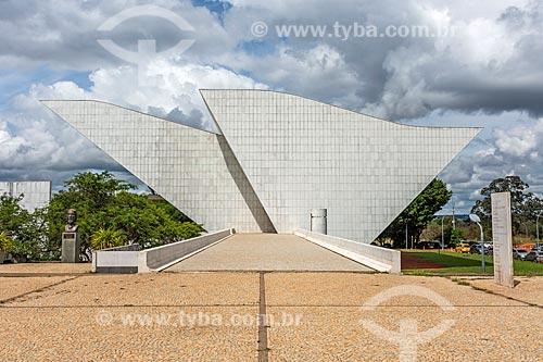 Fachada do Panteão da Pátria e da Liberdade Tancredo Neves  - Brasília - Distrito Federal (DF) - Brasil
