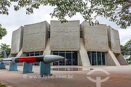 Fachada do Planetário de Brasília  - Brasília - Distrito Federal (DF) - Brasil