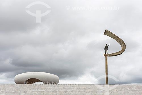 Vista do Memorial JK  - Brasília - Distrito Federal (DF) - Brasil