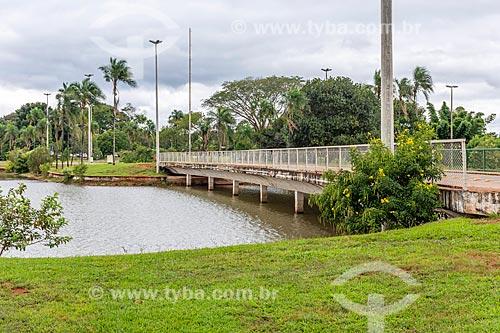 Ponte no Parque da Cidade Dona Sarah Kubitschek - mais conhecido como Parque da Cidade  - Brasília - Distrito Federal (DF) - Brasil