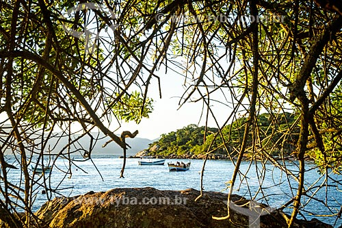 Pesqueiros na Praia da Ponta do Sambaqui  - Florianópolis - Santa Catarina (SC) - Brasil