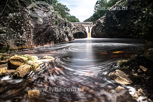 Cachoeira na Chapada Diamantina  - Jacobina - Bahia (BA) - Brasil