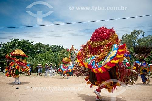 Apresentação de Maracatu Rural - também conhecido como Maracatu de Baque Solto  - Olinda - Pernambuco (PE) - Brasil