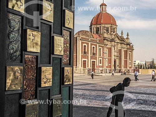 Vista do ex-convento das Capuchinhas (las Capuchinas)  - Cidade do México - Distrito Federal - México