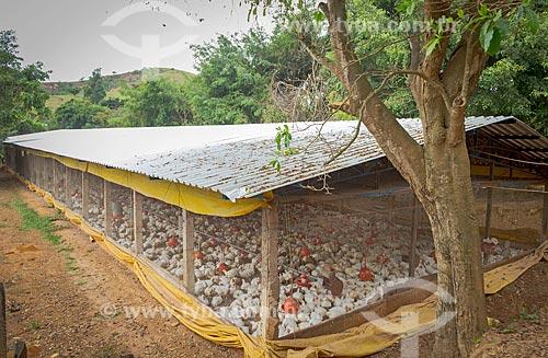 Granja em fazenda na zona rural da cidade de Guarani  - Guarani - Minas Gerais (MG) - Brasil
