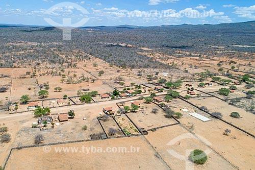 Foto feita com drone da Aldeia Travessão do Ouro da Tribo Pipipãs - ACRÉSCIMO DE 100% SOBRE O VALOR DE TABELA  - Floresta - Pernambuco (PE) - Brasil