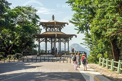Vista do Mirante da Vista Chinesa  - Rio de Janeiro - Rio de Janeiro (RJ) - Brasil
