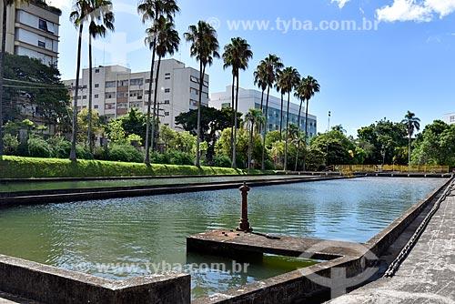 Tanque da Estação de Tratamento de Água Moinhos de Vento (1928) - também conhecida como Hidráulica Moinhos de Vento  - Porto Alegre - Rio Grande do Sul (RS) - Brasil