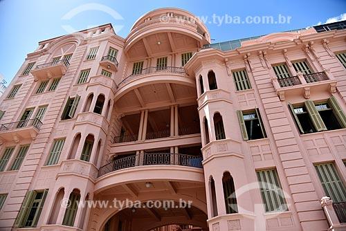 Fachada da Casa de Cultura Mario Quintana (1933) - antigo Hotel Majestic  - Porto Alegre - Rio Grande do Sul (RS) - Brasil