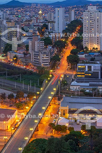 Vista geral do Viaduto de Santa Tereza (1929)  - Belo Horizonte - Minas Gerais (MG) - Brasil