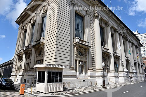 Fachada do Palácio Piratini (1921) - sede do Governo do Estado  - Porto Alegre - Rio Grande do Sul (RS) - Brasil