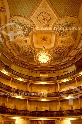 Detalhe do interior do Theatro Carlos Gomes (1927)  - Vitória - Espírito Santo (ES) - Brasil