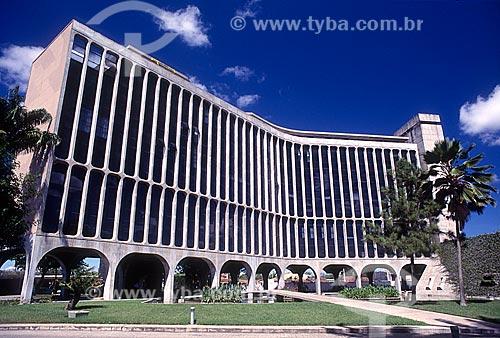 Fachada do Edifício Sede da Confederação Nacional da Indústria (CNI)  - Campina Grande - Paraíba (PB) - Brasil