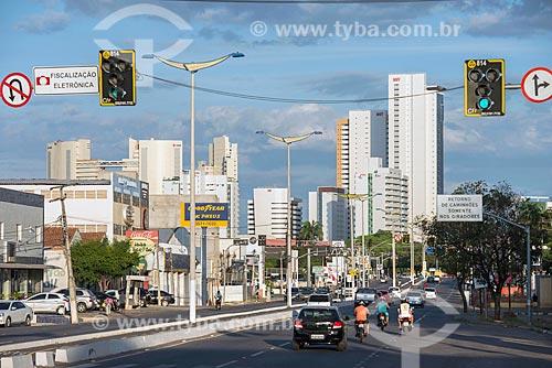 Vista de trecho da Avenida Padre Cícero  - Juazeiro do Norte - Ceará (CE) - Brasil