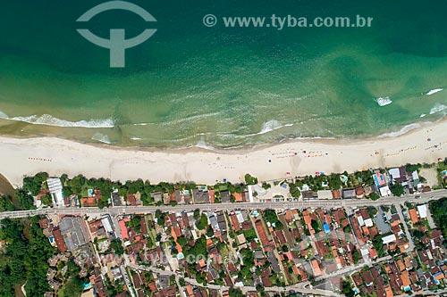 Foto feita com drone da Praia de Maresias  - São Sebastião - São Paulo (SP) - Brasil