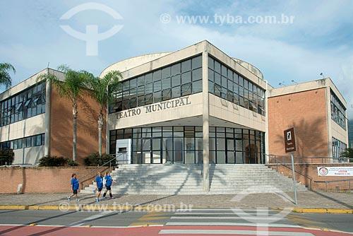 Fachada do Teatro Municipal de São Sebastião  - São Sebastião - São Paulo (SP) - Brasil