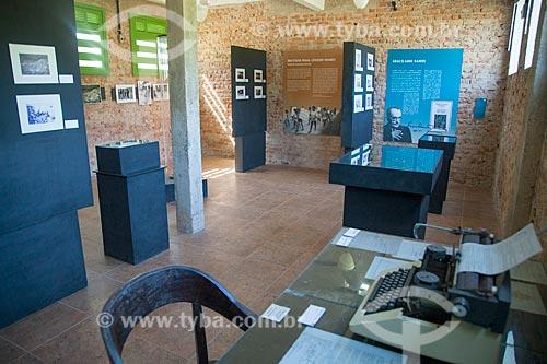 Interior do Museu do Cárcere no antigo Presídio de Ilha Grande  - Angra dos Reis - Rio de Janeiro (RJ) - Brasil