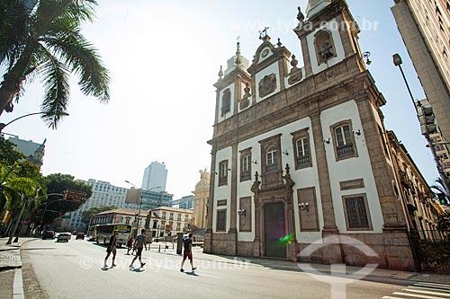 Fachada da Igreja de São José (1816) na Avenida Presidente Antônio Carlos  - Rio de Janeiro - Rio de Janeiro (RJ) - Brasil