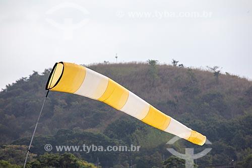 Detalhe de biruta na Base Aérea dos Afonsos  - Rio de Janeiro - Rio de Janeiro (RJ) - Brasil